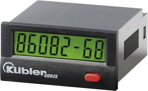 Üzemóra számláló modul 10-260V/AC/DC 99999h59m/ 99999.99 h Kübler Codix 134 HB