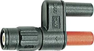 BNC – banándugó adapter BNC dugóról, 2db 4mm-es banándugóra átalakító mérőadapter MultiContact XM-BB/4 (940359721) Stäubli