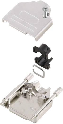 D-SUB ház, pólusszám: 9, fém, 180 °, ezüst, MH Connectors MHDTZK9-K