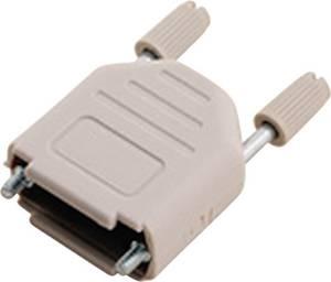 D-SUB ház, pólusszám: 15, műanyag, 180 ° Világosszürke MH Connectors MHDPPK15-LG-K MH Connectors