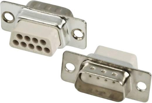 D-SUB tűs kapocsléc 180 °, pólusszám: 15 MH Connectors MHDBC15SP-NW