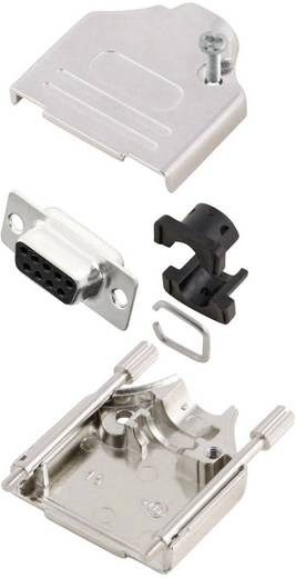 D-SUB alj 180 °, pólusszám: 9 MH Connectors MHDTZK9-DM9S-K