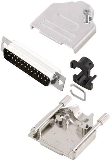 D-SUB dugó 180 °, pólusszám: 25 MH Connectors MHDTZK25-DM25P-K