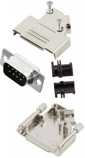 D-SUB dugó 45 °, pólusszám: 9 MH Connectors MHD45ZK9-DM9P-K