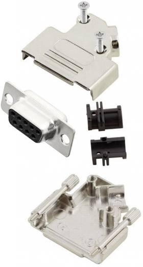 D-SUB alj 45 °, pólusszám: 9 MH Connectors MHD45ZK9-DB9S-K