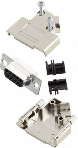 D-SUB alj 45 °, pólusszám: 9 MH Connectors MHD45PK9-DB9S-K
