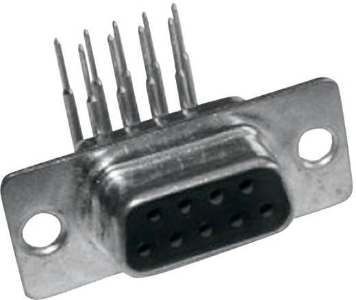 D-SUB hüvelyes kapocsléc 90 °, pólusszám: 9 MH Connectors MHDD9-F-T-B-M-RBM