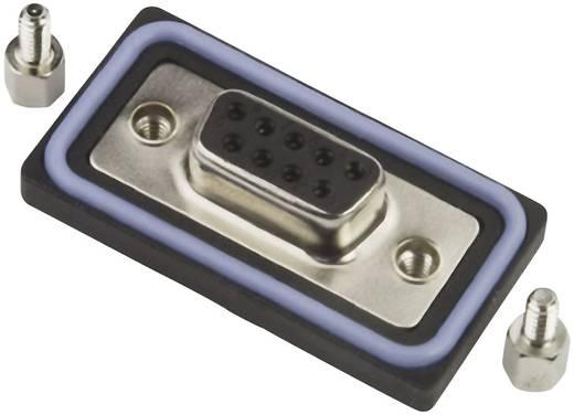 D-SUB hüvelyes kapocsléc 180 °, pólusszám: 15, forrasztható, Amphenol LTW SDB-15PFFS-SL8001