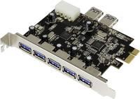 USB 3.0 PCIe kártya, 5+2 port, Renkforce (RF-3633357) Renkforce