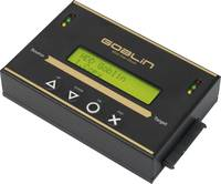 Renkforce Goblin-HS268 1 részes Merevlemez másoló állomás SATA Kép kezeléssel, Hordozható Renkforce