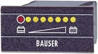 LED-es akkufeszültség visszajelző 20,8 - 24 V/DC 45x22mm Bauser 828 (828/008) Bauser