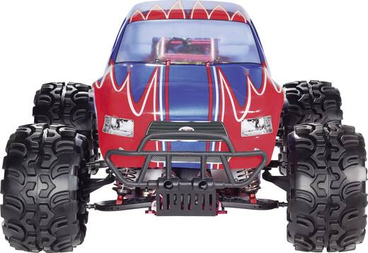Reely Big Survivor 1:5 RC Benzines modellautó Monstertruck 2WD RtR 2,4 GHz