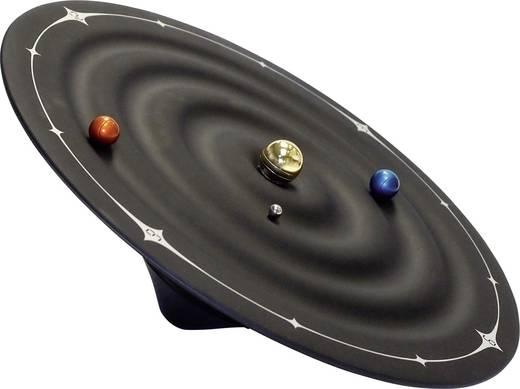Mágneses asztali vagy falióra, fekete, Galaxis forma, KA5100