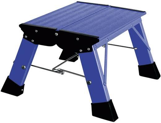Összecsukható lépcső, kék, max. 150 kg, Treppy Plus Line