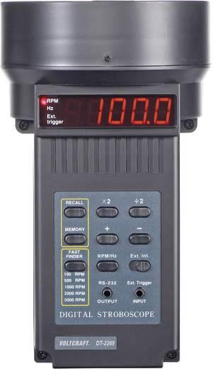 Voltcraft DS-01/DT-2269 Digitális stroboszkópos fordulatszámmérő