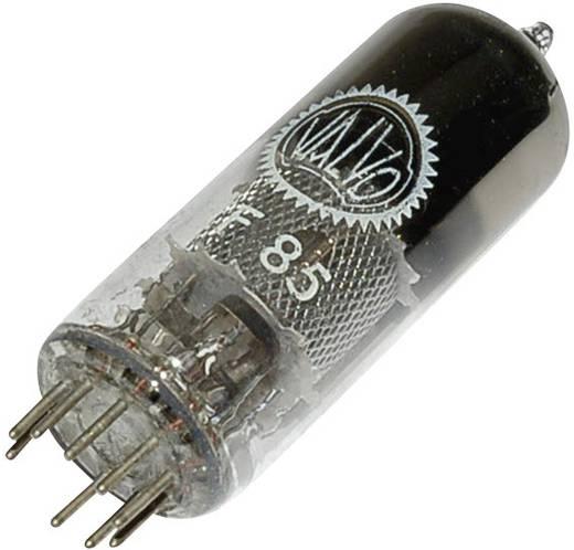 Elektroncső EF 85 = 6 BY 7, pólusszám 9, novál foglalat, HF szabályozó pentóda