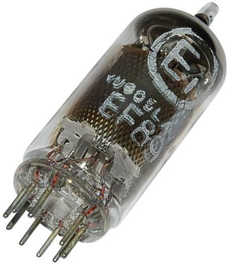 Elektroncső EF 89 = 6 DA 6, pólusszám 9, novál foglalat, HF szabályozó pentóda