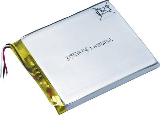 Renata lítium-polimer akku 3.7 V 2800 mAh (H x Sz x Ma) 71 x 62 x 6.3 mm