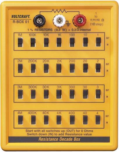 Ellenállás dekád VC R-BOX01