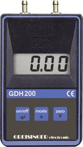 Differenciál nyomás mérő, nyomáskülönbség mérő műszer 0 - 0.1999 bar Greisinger GDH 200-07 Greisinger