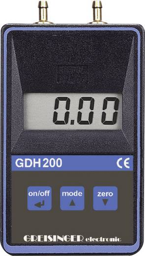 Greisinger GDH 200-07 digitális manométer