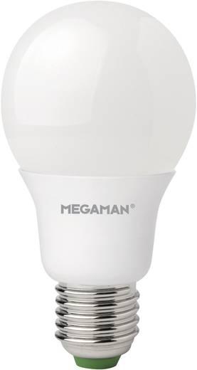 LED (egyszínű) 115 mm Megaman 230 V E27 6.5 W, melegfehér,