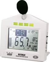 Zajszintmérő, 31,5 - 8000 Hz, ISO kalibrált, Extech SL130 Extech