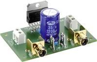 Hangfrekvenciás erősítő építőkészlet 2 x 35 W, 8 - 18 V/DC, 20 Hz - 20 kHz, 2 - 4 Ω, Conrad Conrad Components