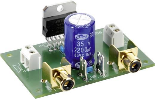 Hangfrekvenciás erősítő építőkészlet 2 x 35 W, 8 - 18 V/DC, 20 Hz - 20 kHz, 2 - 4 Ω, Tru Components