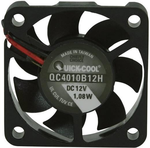 Axiális ventilátor (ipari), 12 V/DC 12,23 m³/h (Sz x Ma x Mé) 40 x 40 x 10 mm QuickCool QC4010B12H