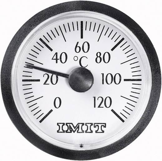 Beépíthető kapilláris hőmérő 0-tól +120 °C-ig 38.5 mm-es kijelzővel 100848