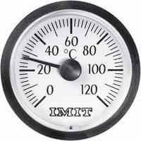 Beépíthető kapilláris hőmérő 0-tól +120 °C-ig 38.5 mm-es kijelzővel 100848 IMIT