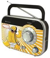 Soundmaster TR410DS Die Simpsons, Kofferradio, UKW, MW, Bunt soundmaster