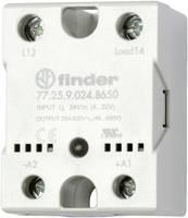 Finder Félvezető relé 1 db 77.25.9.024.8650 Terhelési áram (max.): 25 A Kapcsolási feszültség (max.): 600 V/AC Nullfeszü Finder