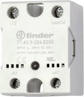 Finder Félvezető relé 1 db 77.45.9.024.8250 Terhelési áram (max.): 40 A Kapcsolási feszültség (max.): 240 V/AC Nullfeszü Finder