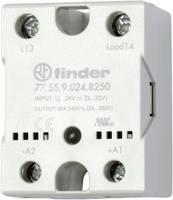 Finder Félvezető relé 1 db 77.55.9.024.8250 Terhelési áram (max.): 50 A Kapcsolási feszültség (max.): 240 V/AC Nullfeszü Finder