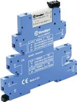 Csatoló relé 1 db 12 V/DC, 12 V/AC 6 A 1 váltó Finder 39.41.0.012.5060 Finder
