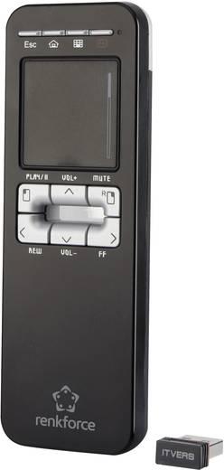 Távirányító TV-hez és számítógéphez, androidos, Renkforce Touch Air R01