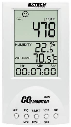 Széndioxid CO2 mérő, levegőminőség mérő, helyiségklíma mérő műszer Extech Desktop CO220