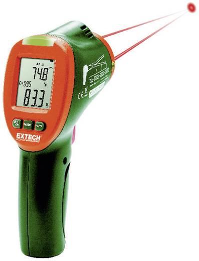 Infra hőmérő, kettős célzólézerrel, 12:1-es optikával -30-tól +350 °C-ig Extech IRT600