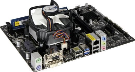 PC, számítógép rendszerbővítő készlet, Intel® Pentium™ G3420 (2 x 3.2 GHz) 4 GB Intel HD Graphics HD4400 Micro-ATX