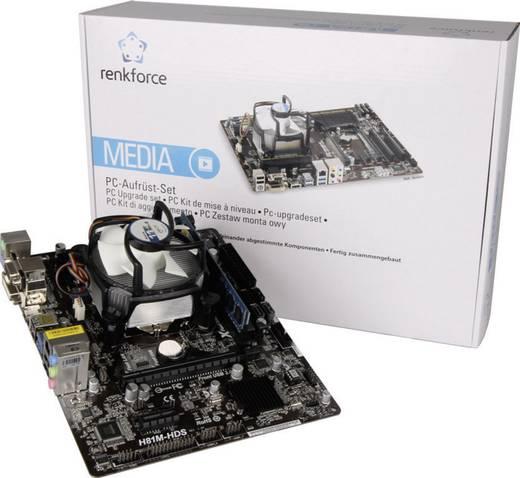 PC, számítógép rendszerbővítő készlet, Intel® Core™ i3 i3-4330 (2 x 3.5 GHz) 4 GB Intel HD Graphics HD4400 Micro-ATX