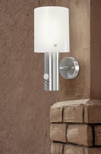 LED-es kültéri fali lámpa mozgásérzékelővel 10,5 W melegfehér, renkforce Torrent HY0002AUP-6 ezüst