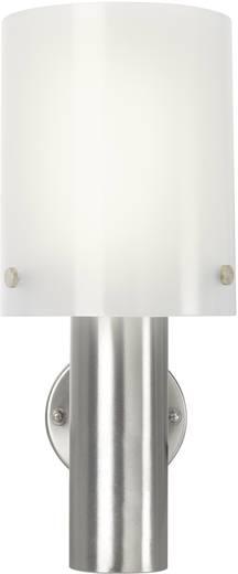 LED-es kültéri fali lámpa 10,5 W melegfehér, renkforce Torrent HY0002AUP-6 ezüst