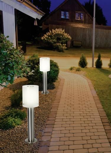 LED-es kültéri álló lámpa 10,5 W melegfehér, renkforce HY0002PSH-6 Torrent ezüst