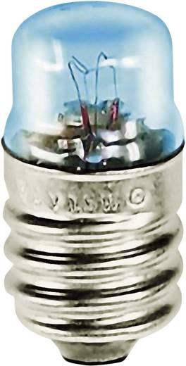 Cső izzó 12 V 1.2 W 0.1 A, foglalat: E14, átlátszó, Barthelme