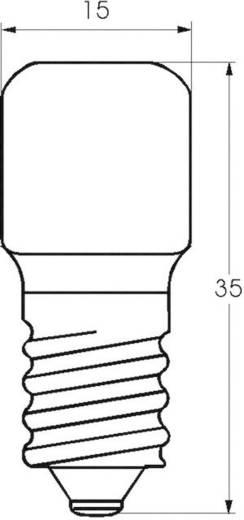 Cső izzó 220 - 260 V 5 - 7 W 0.833 A, foglalat: EP10, átlátszó, Barthelme