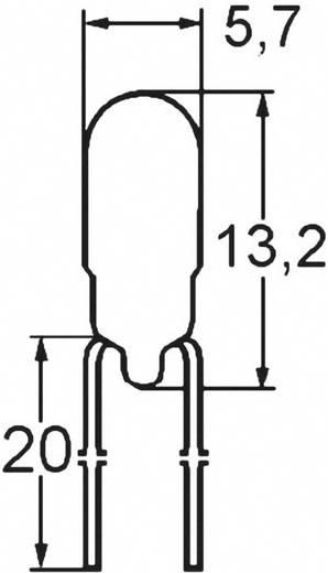 Mikro izzó 24 V 0.96 W, foglalat: T1 3/4 MG, átlátszó, Barthelme