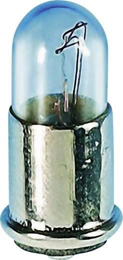 Mikro izzó 6 V 1.2 W, foglalat: MF6s/8, átlátszó, Barthelme