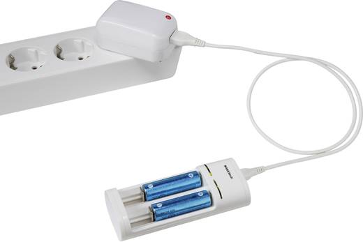 Ceruza AA, mikroceruza AAA akkumulátor töltő, USB-s töltő Basetech BTL-7